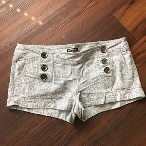 Gray Express Shorts
